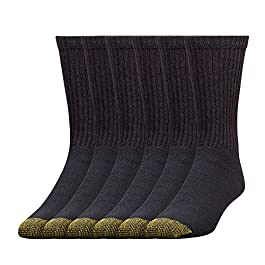 Gold Toe Men's 656s Cotton Crew Athletic Socks, Multipairs