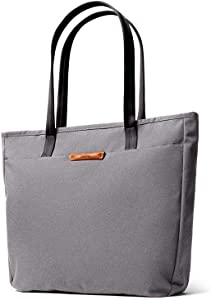 Bellroy Tokyo Tote (Unisex Laptop Tote Bag, Zipper Closure) - Mid Grey