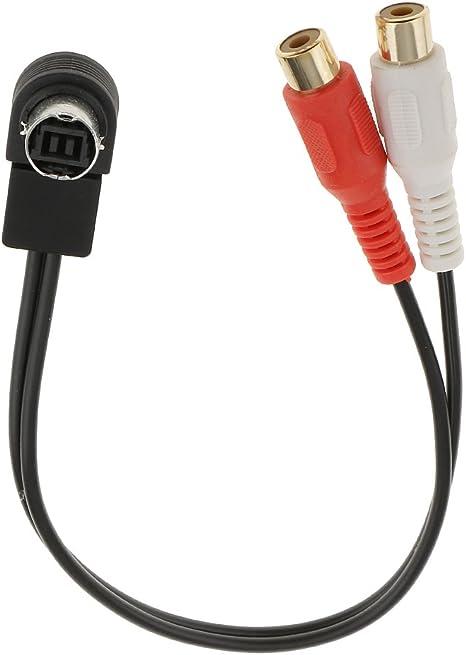 Balikha Audio Adapterkabel Rca Aux Y Kabel Auto Zubehör Elektronik