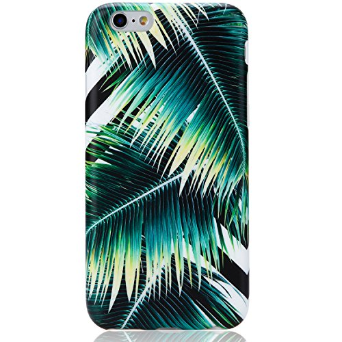 iPhone 6 Case, iPhone 6s Case,VIVIBIN Shock Absorption Matte TPU Soft Silicone Rubber Protective Cover Phone Case for iPhone 6 / iPhone 6s – 4.7″ (Palm)