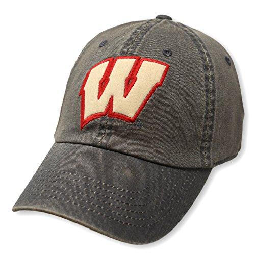 Wisconsin Badgers Team Hat Charcoal