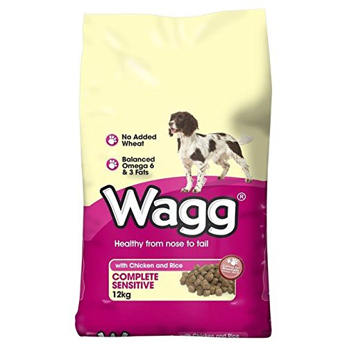 Wagg Complete Sensitive Dry Dog Food 12kg (PACK OF 6)