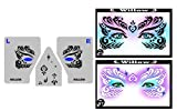 ShowOffs Body Art Face Painting Stencil - StencilEyes Willow