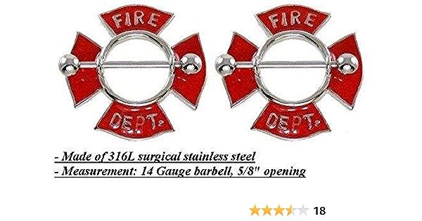 Crystal Steel Charming Nipple Shield Bar Ring Body Piercing Body Jewelry HF FD