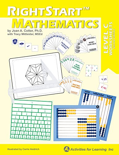 Worksheets Lab (RightStart Mathematics Level C Worksheets)