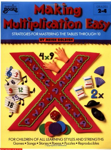 Making Multiplication Easy: Strategies for Mastering the Tables through 10 Grades 24