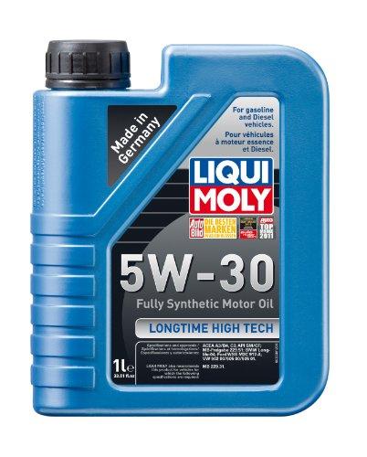 [Liqui Moly 2038 Longtime High Tech 5W-30 Synthetic Motor Oil - 1 Liter Bottle] (Moly Motor)