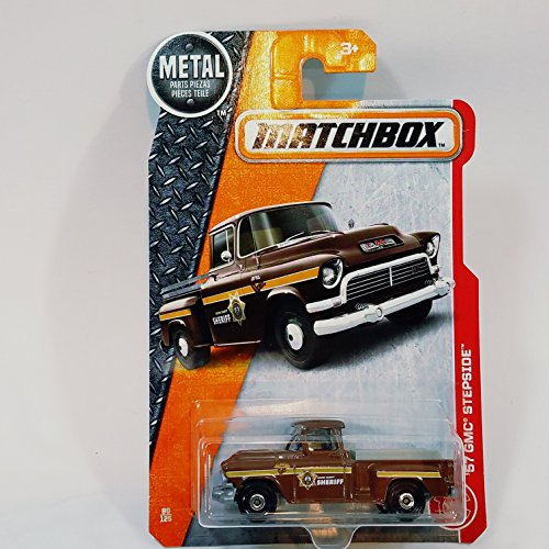 Matchbox 1957 Boone County Sheriff Dept GMC Stepside Pickup Truck 80/125