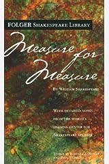 Measure for Measure (Folger Shakespeare Library) Mass Market Paperback