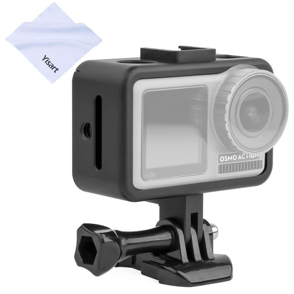 Yisau Black Border Installation DJI Action Protection Shell for DJI OSMO Action Extension Framework Installation