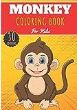 Monkey Coloring Book: For Kids Girls & Boys | Kids