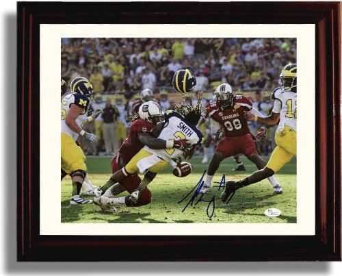 Framed USC South Carolina Gamecocks Jadeveon Clowney Autograph Photo