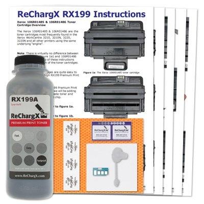 Standard Yield Refill - Xerox WorkCentre 3220 Standard Yield Toner Refill Kit