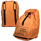 Car Seat Travel Bag - Cover and Protect Your Child's Car Seat or Booster Seat with Kosmic Carry Bags - Airplane and Air Travel Essentials for Babies and Kids