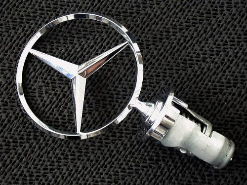 Genuine Mercedes w140 S-class Hood Star Emblem Front for sale  Delivered anywhere in USA