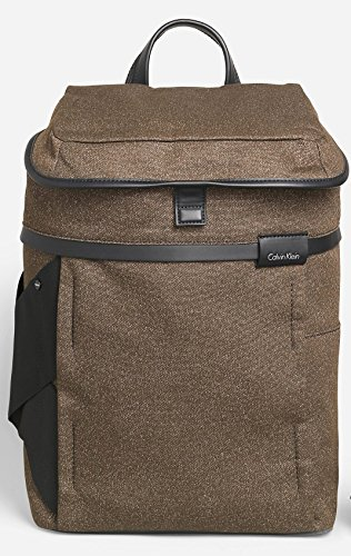 Calvin Klein Mens Fabric Travel Laptop Backpack Bag by Calvin Klein