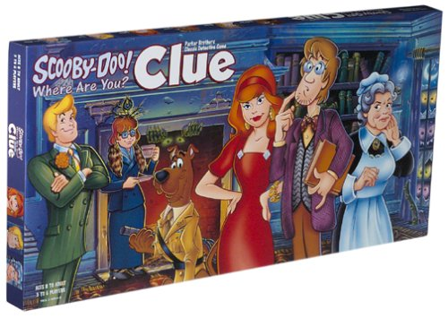 Scooby Doo Clue Board Game by Amazon