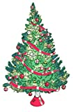 Wall Hugs Christmas Tree - Christmas Wall Art Decal