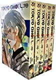 Tokyo Ghoul Volume 1-5 Collection 5 Books Set (Series 1) By Sui Ishida