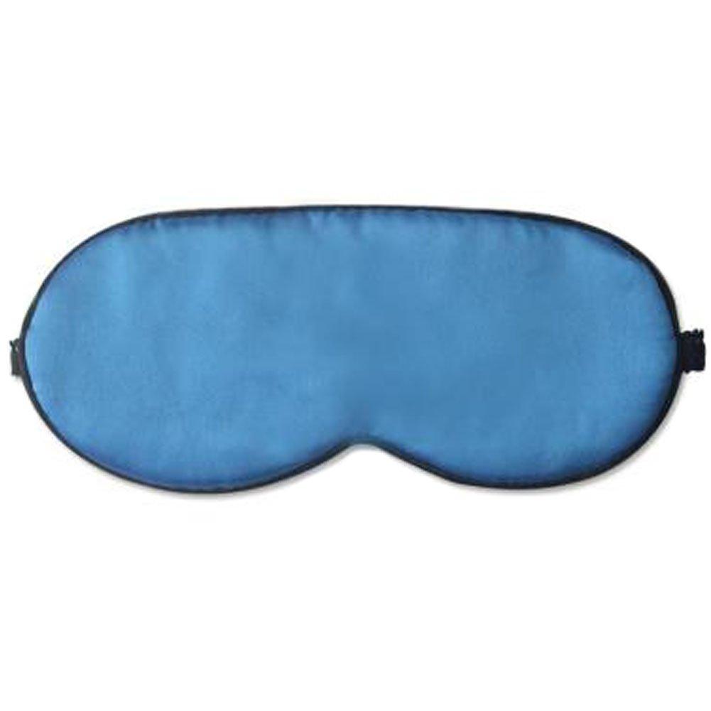 dolly2u Ultra Lightweight Eye Mask Sleep Mask Eye-shade Eye Cover Silk, Light Blue