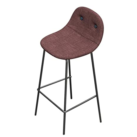 Admirable Amazon Com Hyxqybd Bar Stools Bar Chair Nordic Wrought Bralicious Painted Fabric Chair Ideas Braliciousco