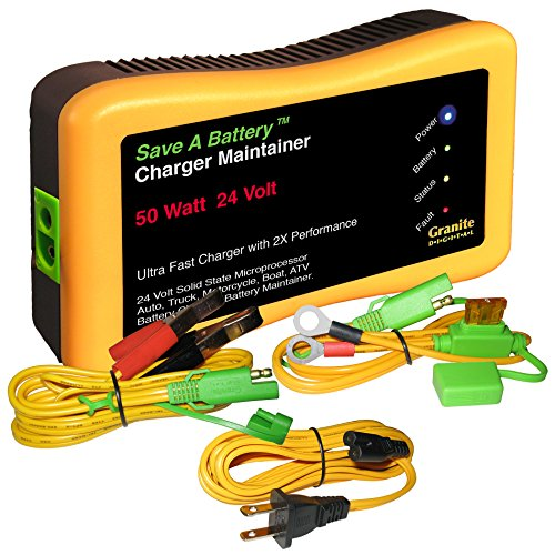 Price comparison product image Battery Saver 2365-24 24V 50W Quick Charger and Auto Pulse Maintainer