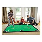 "Golf Pool Indoor Game, Carbon Fiber - Green - 78""L x 57""W"