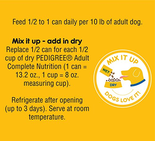 Pedigree Choice CUTS in Gravy Canned Wet Dog Food Country Stew, (12) 13.2 oz. Cans by Pedigree (Image #7)