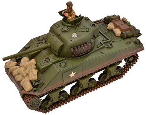 1/24 2.4GHz battle tank series U.S Sherman M4A3 tank ()