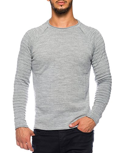 Pour People Karl's Pull Gris Homme wA0tU0
