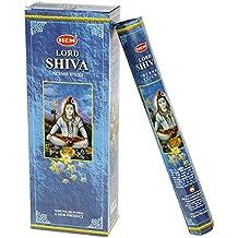 Hem Lord Shiva Incense (Box of 6 Tubes)