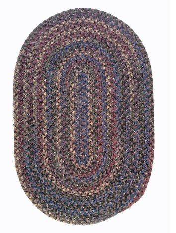 Lavender Braided Rug - 1