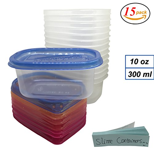 10 ounce container with lid - 7