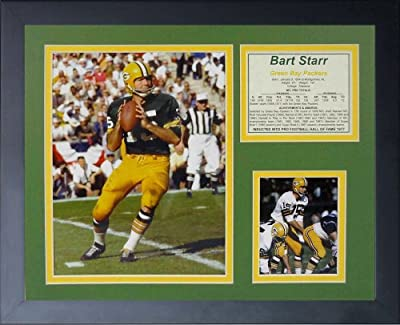 Legends Never Die Bart Starr Framed Photo Collage, 11x14-Inch