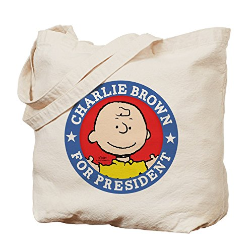 CafePress Tote Bag - Charlie Brown for President - Peanuts Tote Bag by CafePress