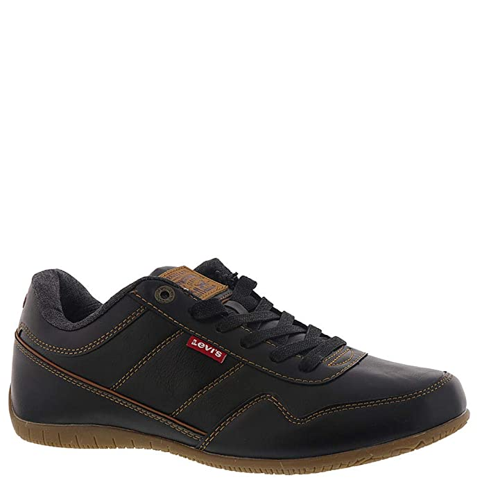 Levi's¿ Shoes Men's Rio Brunish Black/Tan 9.5 M US