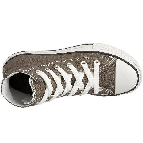 CONVERSE Chuck Taylor All Star Season Hi - Zapatillas de tela infantil Charcoal