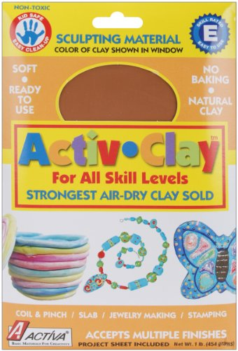 Activ Clay Air (Brand New Activ-Clay Air-Dry Clay 1lb-Terra Cotta Brand New)