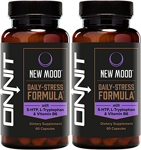Onnit New Mood: Daily Stress, Mood, and Sleep Support Supplement (120ct) by ONNIT