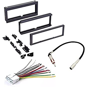 Amazon Car Cd Stereo Receiver Dash Install Mounting Kit Wire. Isuzu 1998 2000 Hombre Car Cd Stereo Receiver Dash Install Mounting Kit Wire Harness Radio Antenna Adapter. Lincoln. 2001 Lincoln Ls Wiring Harness At Scoala.co
