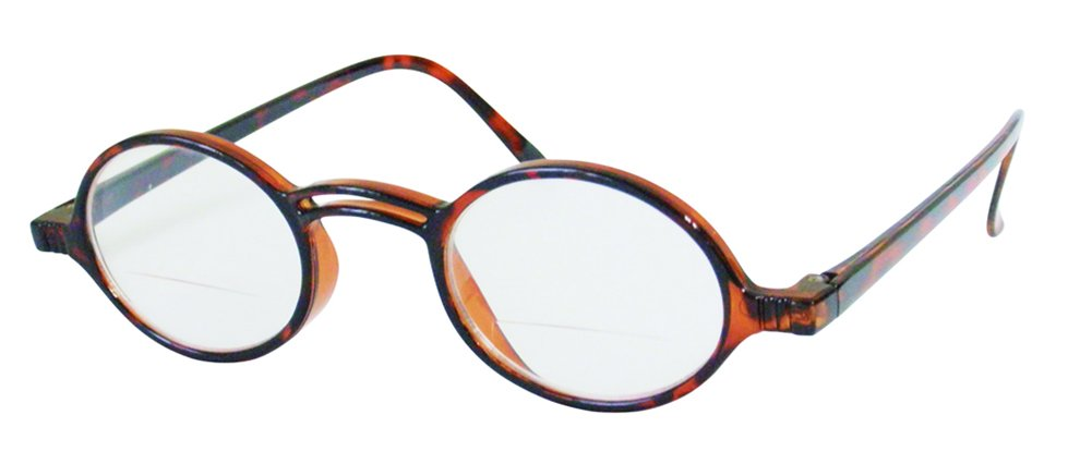 Rodeo Shires Bi Focal Vintage Oval Sun Reader Sunglasses (Clear, 1.00) by Rodeo