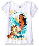 #3: Disney Girls' Moana Short-Sleeved T-Shirt