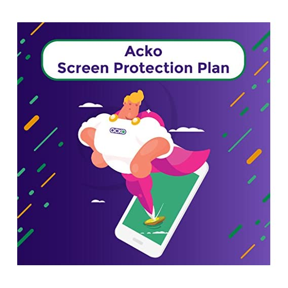 Acko 12-month Screen Damage Protection for Rs. 349