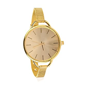 Armbanduhr damen gold