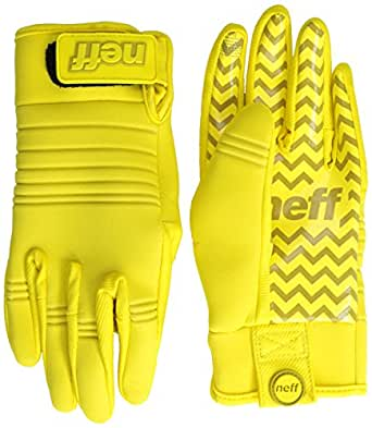 neff Men's Daily Pipe Glove, Yellow, X-Large