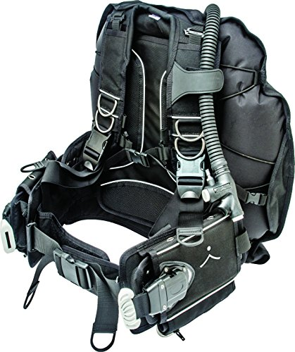Innovative Scuba Concepts Buoyancy Compensating (BCD) Device Makai Integrated Weights Back Inflation Bag