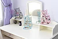 Cat Shape Metal Wire Earring Holder by ARAD