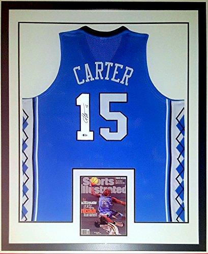 info for c9e60 9a615 Vince Carter Signed University of North Carolina Tar Heels ...