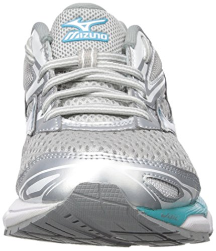 Tile Shoes Griffin Inspire 13 Blue Silver Running Mizuno 2A Women's Wave qUwT4f8