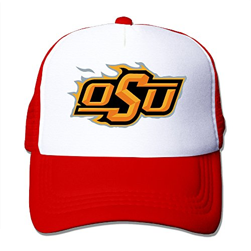 CCbros Oklahoma State University Logo Summer Mesh Back Hat Caps One Size Fit All -